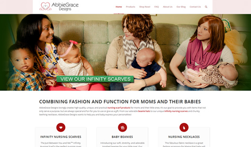 Recent Website Design Projects for Small Business
