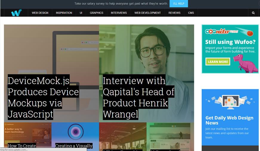 5 Sites for Web Design Inspiration   Inspiring Web Design
