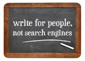 Write for your audience not Google