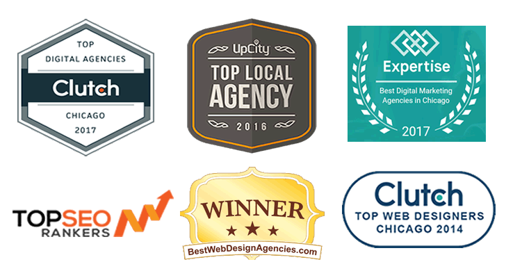 Chicago Top Digital Marketing Agency Award