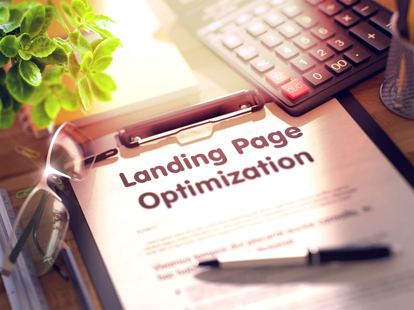 landing page otpimization for SEO