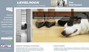 LEVELROCK Flooring Underlayment - USG