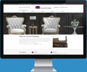 website design for Thomas G Upholstery