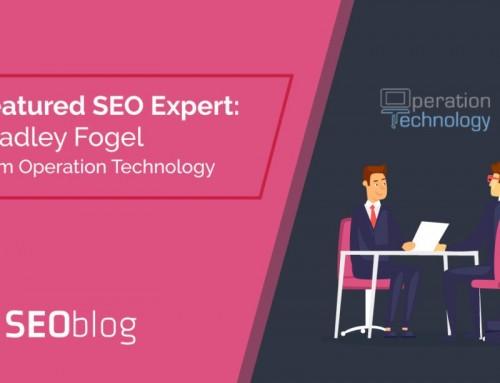 Chicago SEO Expert Bradley Fogel Interviewed on SEOblog.com
