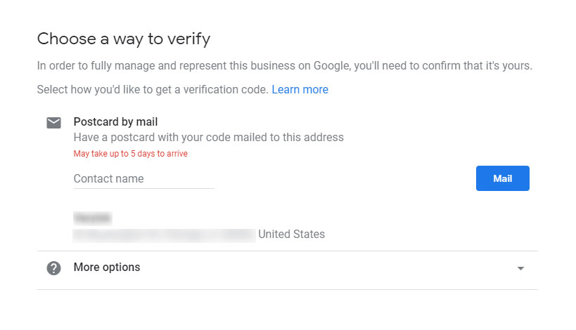 Verify Business Listing Google