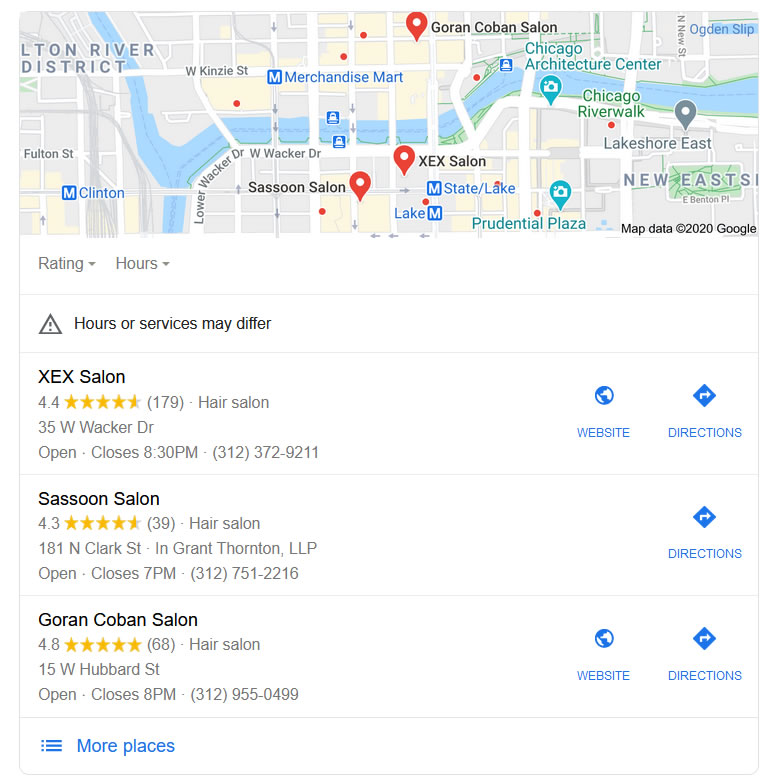 Google Maps Listing for Local SEO